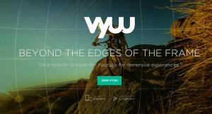 Vyuu homepage